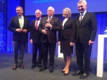 Prof. Dr. Detlev Riesner zur Verleihung des Innovationspreises 2018 des Landes NRW