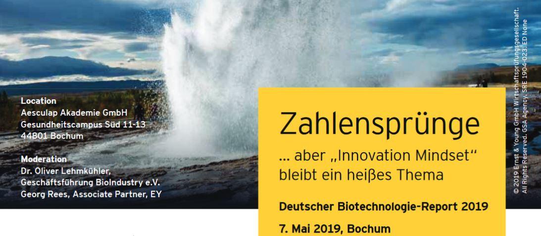 Deutscher Biotechnologie-Report 2019